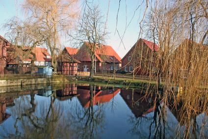 Dorfidylle in Wiedensahl (Geburtsort von Wilhelm Busch)